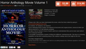 horror anthology vod rental download