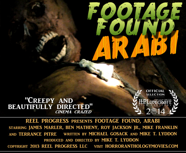 found footage horror H.P. Lovecraft