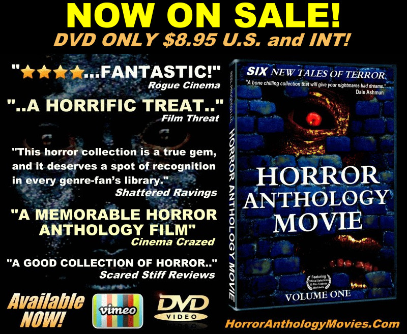 HORROR ANTHOLOGY MOVIE VOLUME ONE limited edition DVD
