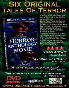 Horror Anthology Movie volume one on dvd amazon ebay vimeo