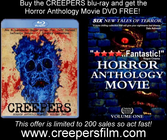 creepers numbered special limited edition blu-ray on sale