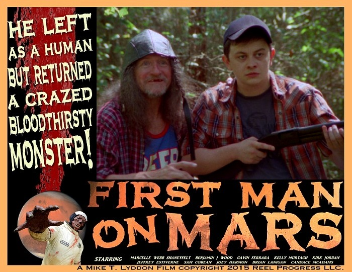 Kletus and Ramone go huntin' for the Black Bayou monster in First Man on Mars!