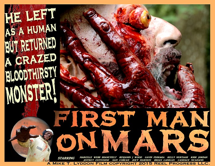 head squeezing gore from first man on mars