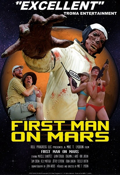 Troma Entertainment First Man on Mars