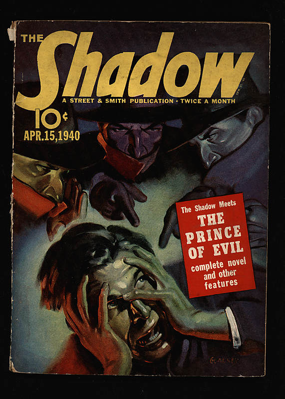 The Shadow pulp magazine April 15, 1940 issue