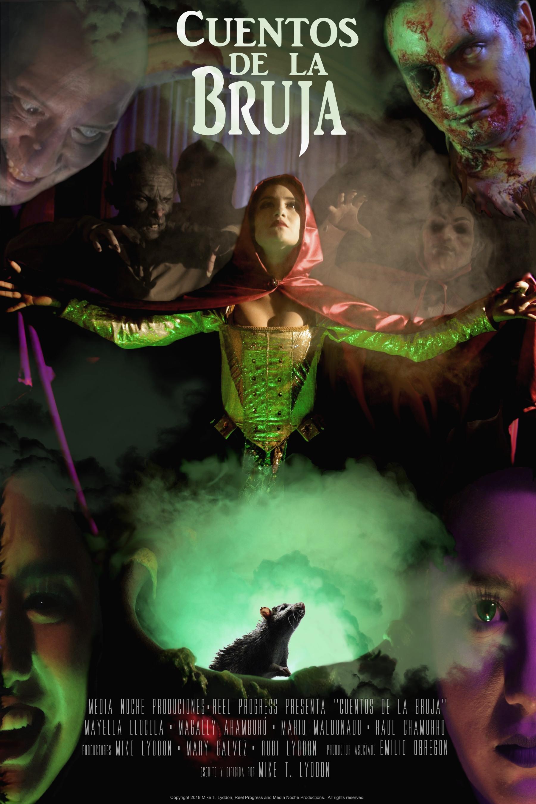 """Witch Tales Cuentos de la Bruja Movie Poster 2 - 150dpi - 12""""x18"""" maximo"""