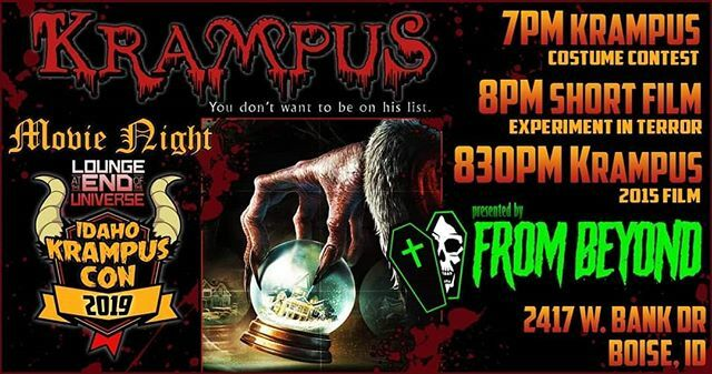 Experiment in Terror at Idaho Krampus Con and Film Festival