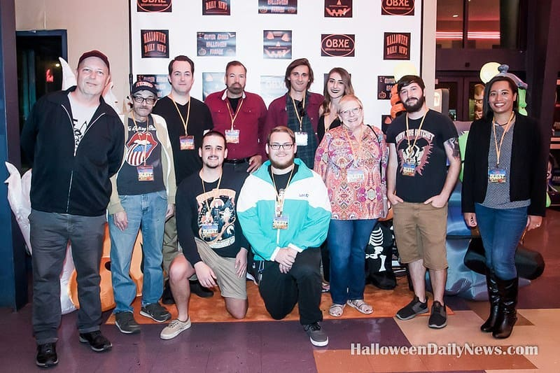 Mike Lyddon and filmmakers at HIFF 2019