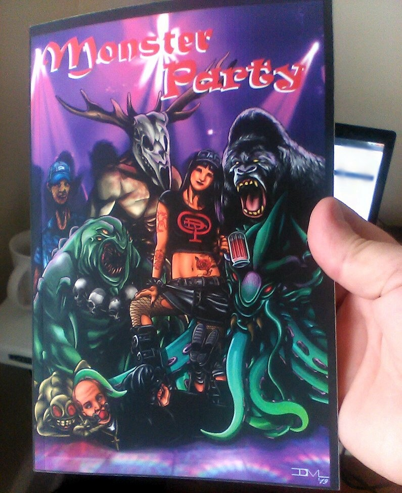 Monster Party Horror Anthology Book on Ebay