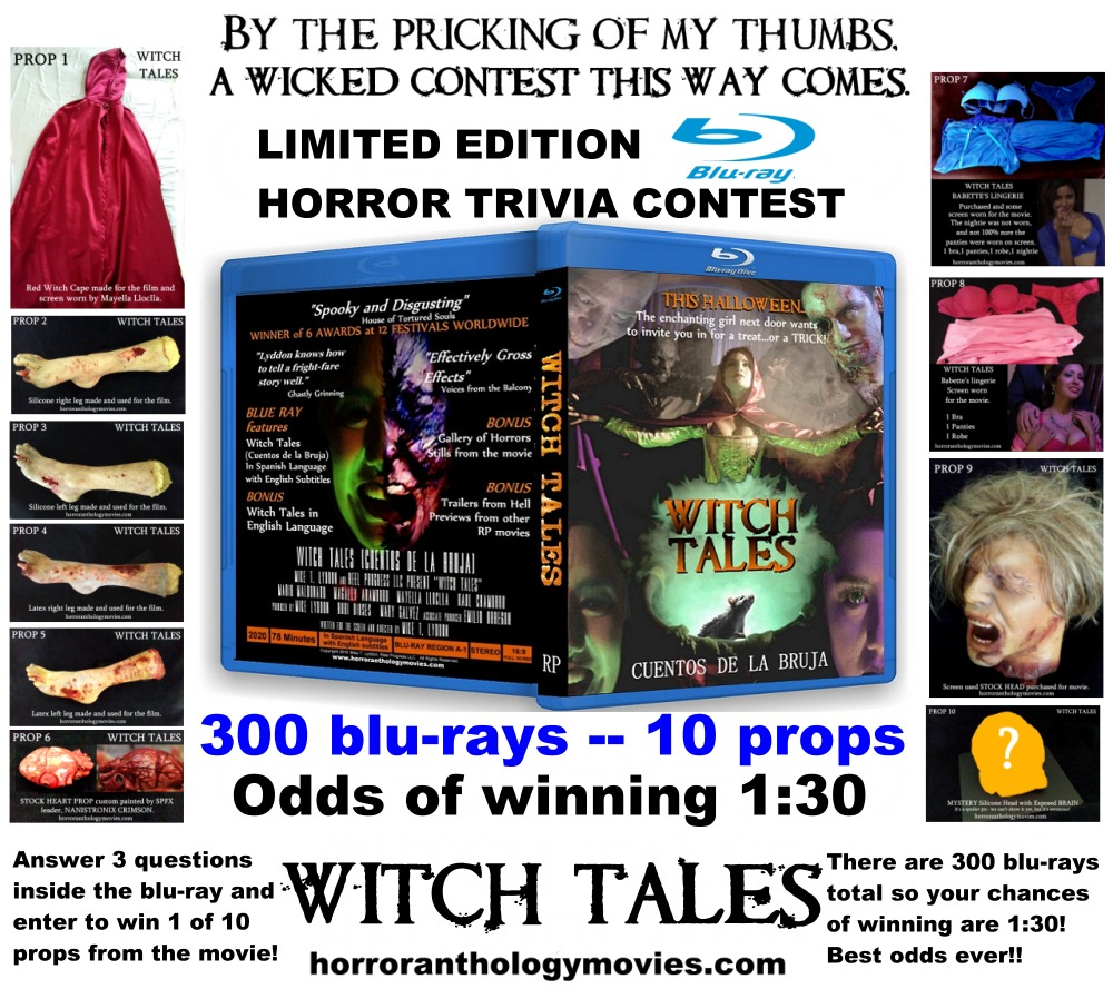 WITCH TALES BLU-RAY HORROR TRIVIA CONTEST