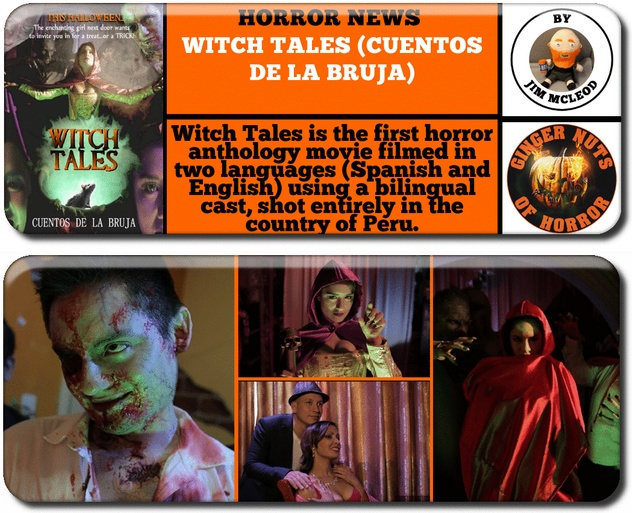 ginger nuts of horror press release for Witch Tales