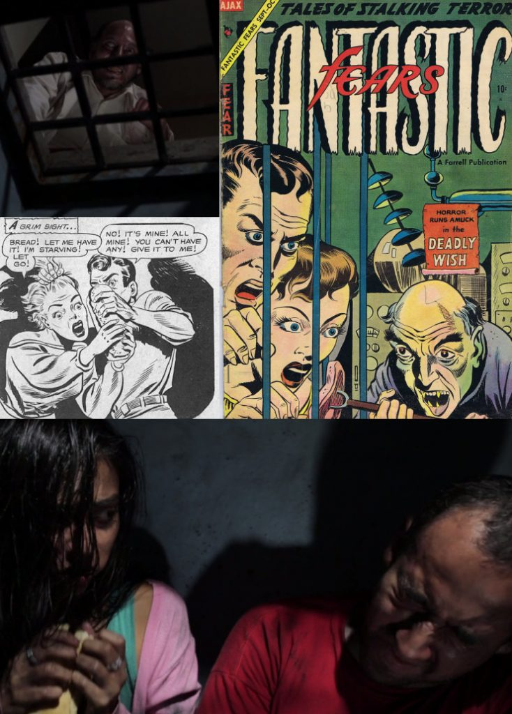 experiment in terror precode horror comic book