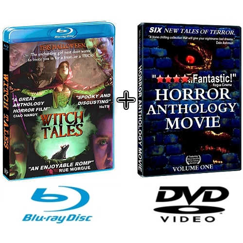 halloween horror anthology movie bundle