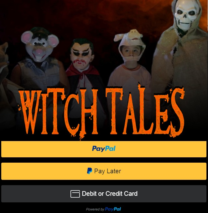 paypal buttons witch tales blu-ray