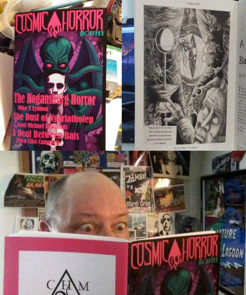 lovecraft issue cosmic horror monthly