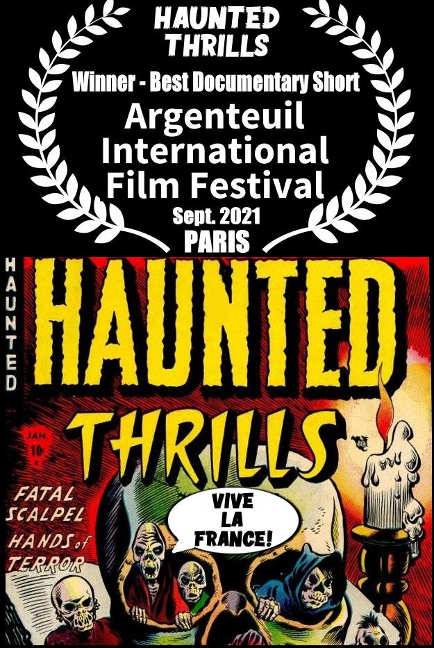 Haunted Thrills best documentary Paris film festival